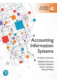Accounting Information Systems, 15th Global Edition