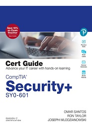 CompTIA Security+ SY0-601 Cert Guide, 5th Edition
