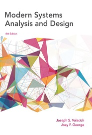 Modern Systems Analysis and Design, 8th Edition