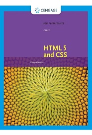 New Perspectives on HTML 5 and CSS: Comprehensive: Comprehensive, 8th Edition