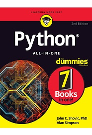 Python All-in-One For Dummies, 2nd Edition